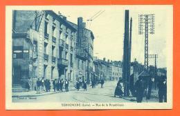 """CPA 42  Terrenoire """" Rue De La République """" LJCP 9 - Autres Communes"""