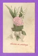 CPA  FANTAISE  ~   636  Souvenir Du Printemps  ( A.S.V. 1907 ) - Fantasia
