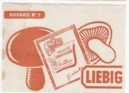 Buvard N° 1, LIEBIG, Champignons - Soups & Sauces