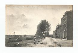Bousval   La Route Provinciale Et La Maison Du Bourgmestre. - Genappe