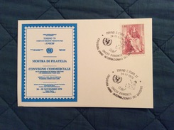 Cartolina Ufficiale Torino '79 Mostra Di Filatelia Annullo Postale Unicef Piemonte 24-11-79 - Manifestazioni