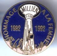 Pin´s EGF Hommage à La Femme - Michel Millien - Personaggi Celebri