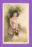 CPA  FANTAISE  ENFANTS  ~   4047   Heureuse Année  ( Bellone 1911 ) - Fantaisies