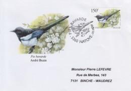 Enveloppe 1997 N° 2697 Avec FDC(prévente) - Oiseau Pie Bavarde - PL - 1991-00