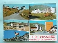 V08-73-A-savoie --la Toussuire-multivues--voitures-moutons- Vaches-chamois- - Autres Communes