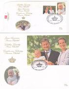 Gelukkige Verjaardag Prinses Elisabeth (Lot Of 2 FDC) - Souvenir Cards