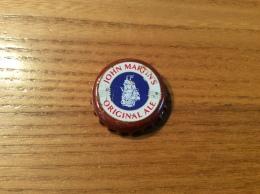 """Capsule De Bière """"JOHN MARTIN - ORIGINAL ALE"""" (voilier) Belgique - Bière"""