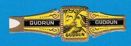1 BAGUE DE CIGARE GUDRUN GUDRUN GUDRUN - Bauchbinden (Zigarrenringe)