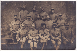 Carte Postale Photo Militaire Français 53 ème Régiment Infanterie Artillerie CLERMONT-FERRAND-LONS-LE-SAUNIER-TARBES ? - Régiments