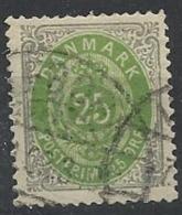 DANEMARK N°  27 Oblitéré - Danemark