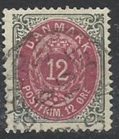 DANEMARK N°  25 Oblitéré - Danemark