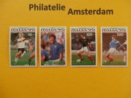 Tanzania 1990, WORLD CUP ITALY 90 / FOOTBALL SOCCER VOETBAL FUSSBALL FUTBOL CALCIO: Mi 688-91, ** - 1990 – Italia