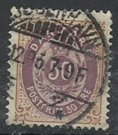 DANEMARK N°  28 Oblitéré - Danemark
