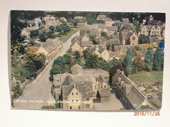 Postcard General View Model Village Bourton On The Water My Ref B1231 - Altri