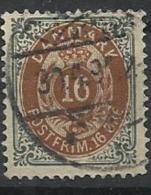 DANEMARK N°  26 Oblitéré - Danemark