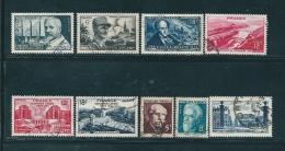 France Timbres De 1948   N°814 A 822   Oblitéré - France