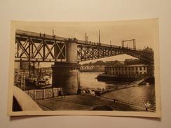 Carte Postale - BREST (29) - Le Pont National (371) - Brest