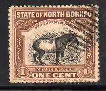 BORNEO DU NORD / MALAISIE / SABAH / YT 131 - Borneo Del Nord (...-1963)