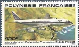 1979  Poly  N° PA 152 Nf**   . Les Avions.   D.C.8 (1963) - Poste Aérienne