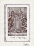 Devotion Image ::: Imagem De Sant'Ana :: Leça De Palmeira ::: Holed - Andachtsbilder