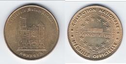 **** 18 - BOURGES - CATHEDRALE SAINT-ETIENNE 2002 - MONNAIE DE PARIS **** EN ACHAT IMMEDIAT !!! - Monnaie De Paris