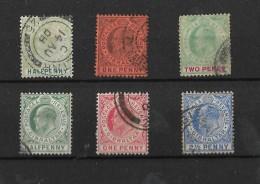 Gibraltar, KEVII Selection, Wmk Mult Crown CA, Two Sets (4884) - Gibraltar
