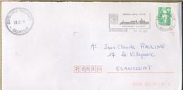 FRANCE - BLASON - GRANVILLE - D'azur Au Dextrochère D'or Mouvant Du Flanc D'une Nuée Du Même, Lequel Tient Une épée D'ar - Buste