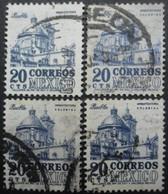 MEXIQUE N°649D Filigrane F X 5 Oblitéré - Timbres
