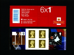 GREAT BRITAIN - SELF-ADHESIVE BOOKLET 6 X 1st  OLYMPICS  No 2  MINT NH  PM 22 - Libretti