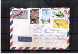 Lettre De Mauritius Vers La Belgique (à Voir) - Maurice (1968-...)
