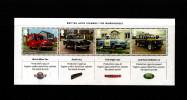 GREAT BRITAIN - 2013  BRITISH AUTO LEGENDS  MS  MINT NH