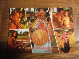 CP Visages De Guyane - Guyane