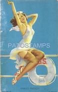 62363 US ART WOMAN SENSUAL ON BOARD SHIP DAMAGED CARD NO POSTAL TYPE POSTCARD - Ohne Zuordnung