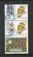 ESPAÑA 2001 - Ed. 3805 X 2 Con 1 Viñeta - 2011-... Oblitérés