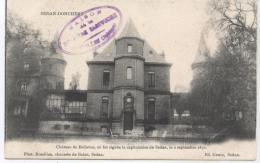 08...SEDAN    DONCHERRV   LE CHATEAU DE BELLEVUEOU FUT SIGNEE LA CAPITULATION DE 1870  TBE  K525 - Sedan