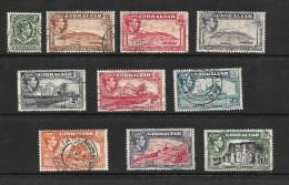 Gibraltar, 1938 KGVI Basic Set To 1/-, Unchecked (4862) - Gibraltar