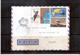 Cover From Egypt To Belgium (to See) - Qatar