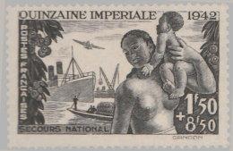 France 1942. ~ YT 543** - Quinzaine Impériale - France