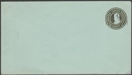 États-Unis. Enveloppe, Entier Postal Timbré 1 C, Surchargé 1 1/2 C
