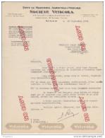 Au Plus Rapide Lettre Société Viticola Nîmes Tracteur Agricole Plus Liste De Tracteurs D´occasion 10 Sept 1934 - Tractors