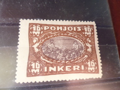 INGRIE YVERT N°14 - 1919 Occupation: Finland