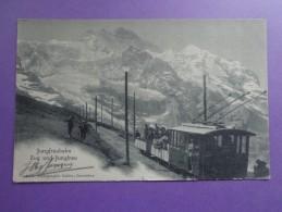 CPA SUISSE JUNGFRAUBAHN  TRAIN - Suisse