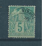 Colonie Type Alphée  Timbres De 1881  N°49  Oblitéré Tonkin - Alphée Dubois