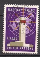 UNO  Genf  (1969)  Mi.Nr.  1  Gest. / Used   (1fb22) - Gebraucht