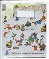 Animaux Habillés Protège Cahier Fédération Football - Animaux