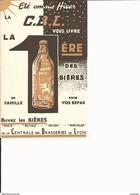 BUVARD BIERE  CENTRALE DES BRASSERIES DE LYON  RINCK WINCKLER VELTEN ROYALE - Non Classés