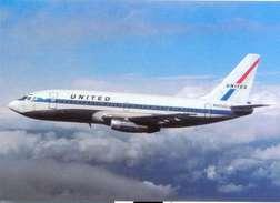 Aviation Postcard-068  UNITED AIR LINES  Boeing 737 - 1946-....: Moderne