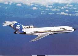 Aviation Postcard-072  ALASKA AIRLINES  Boeing 727 - 1946-....: Moderne