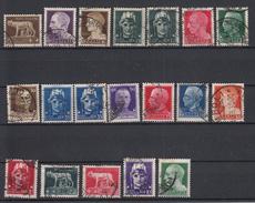 ITALIË - Michel -  1929 - SELECTIE - Gest/Obl/Us - 1900-44 Vittorio Emanuele III