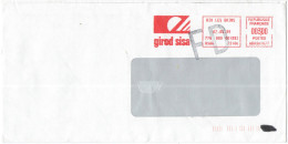 FRANCIA - France - 1999 - EMA, Red Cancel 0300 + FD, Fausse Direction - Girod Sisa - Viaggiata Da Aix-les-Bains - EMA (Empreintes Machines à Affranchir)